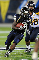 26 September 2009:  FIU running back Darriet Perry (28) carries the ball in the first quarter of the Toledo 41-31 victory over FIU at FIU Stadium in Miami, Florida.