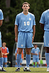 06 September 2009: UNC's Billy Schuler. The University of North Carolina Tar Heels defeated the Evansville University Purple Aces 4-0 at Fetzer Field in Chapel Hill, North Carolina in an NCAA Division I Men's college soccer game.