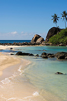 Seychelles, Island Mahe, Anse l'Islette: beach at west coast<br />