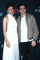October 09, 2018  Maggie Gyllenhaal, Jake Gyllenhaal, attend Netflix's special screening of The Kindergarten Teacher at the Crosby Street Hotel in New York October 09, 2018 <br /> CAP/MPI/RW<br /> &copy;RW/MPI/Capital Pictures