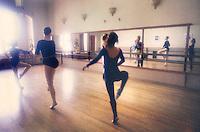 Ballet dance studio.