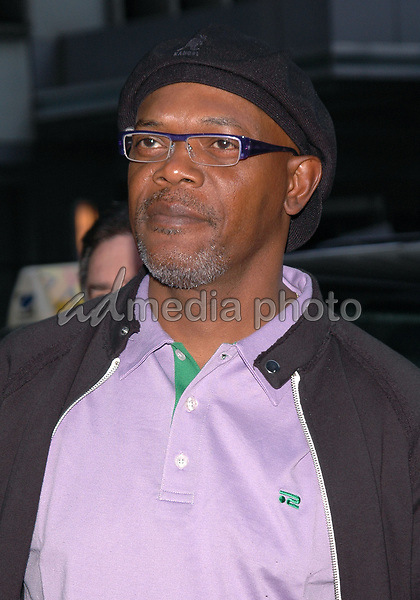 12 May 2005 - New York, New York - Samuel L. Jackson arrives at the premiere of &quot;Star Wars II Revenge of the Sith&quot; at the Ziegfeld Theater in Manhattan.<br />