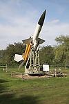 Bloodhound MK1 Sam missile Norfolk  Suffolk aviation museum Flixton Bungay England.
