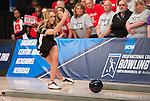16 APR 2016:  Briana Zabierek #5 of Nebraska bowls during the Division I Women's Bowling Championship held at the Brunswick Zone Carolier in North Brunswick, NJ.  Stephen F. Austin State won the national title.  Ben Solomon/NCAA Photos