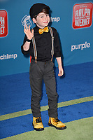"LOS ANGELES, CA. November 05, 2018: Paxton Booth at the world premiere of ""Ralph Breaks The Internet"" at the El Capitan Theatre.<br /> Picture: Paul Smith/Featureflash"