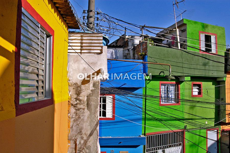 Reurbanização da favela Heliópolis, São Paulo. 2004. Foto de Juca Martins.
