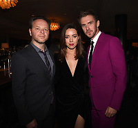 "LOS ANGELES, CA - APRIL 2: Creator/Executive Producer/Writer/Director Noah Hawley, Aubrey Plaza, and Dan Stevens attend the party for the season two premiere of FX's ""Legion"" at the Soho House on April 2, 2018 in Los Angeles, California. (Photo by Frank Micelotta/FX/PictureGroup)"