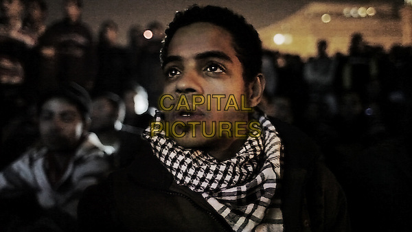 Egyptian activist Ahmed Hassan <br /> in The Square (2013) <br /> (Al Midan)<br /> *Filmstill - Editorial Use Only*<br /> CAP/FB<br /> Supplied by Capital Pictures
