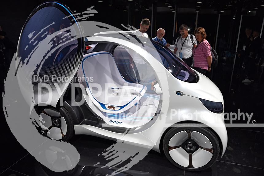 Smart auf der Internationalen Automobil-Ausstellung 2017 auf dem Messegelände. Frankfurt am Main, 12.09.2017