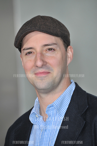 "Tony Hale at the world premiere of his new movie ""The Tale of Despereaux"" at the Arclight Theatre, Hollywood..December 7, 2008  Los Angeles, CA.Picture: Paul Smith / Featureflash"
