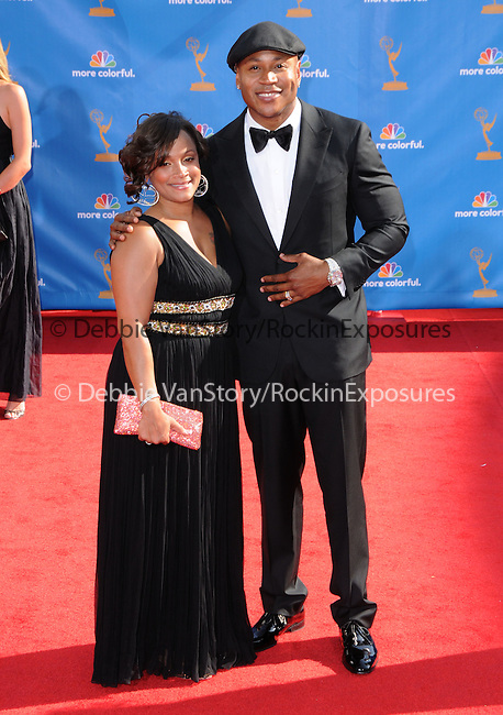 LL Cool J..  at The 62nd Anual Primetime Emmy Awards held at Nokia Theatre L.A. Live in Los Angeles, California on August 29,2010                                                                   Copyright 2010  DVS / RockinExposures