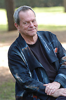 """TERRY GILLIAM.Photocall for the film """"Tideland"""", Rome, Italy..October 29th, 2007 .half length black jacket .CAP/CAV.©Luca Cavallari/Capital Pictures."""