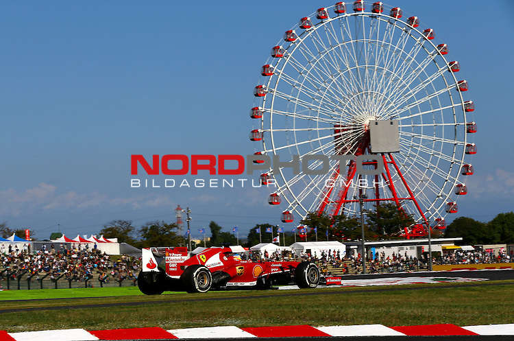 11. 13.10.2013, Suzuka International Racing Course, Suzuka, JPN, F1, Grosser Preis von Japan, Suzuka, im Bild  Fernando Alonso (ESP),  Scuderia Ferrari <br /> for Austria &amp; Germany Media usage only!<br />  Foto &copy; nph / Mathis