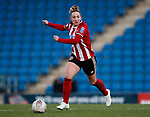 Aimee Palmer of Sheffield Utd during the The FA Women's Championship match at the Proact Stadium, Chesterfield. Picture date: 8th December 2019. Picture credit should read: Simon Bellis/Sportimage