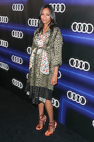 WEST HOLLYWOOD, CA, USA - AUGUST 21: Zoe Saldana arrives at the Audi Emmy Week Celebration held at Cecconi's Restaurant on August 21, 2014 in West Hollywood, California, United States. (Photo by Xavier Collin/Celebrity Monitor)