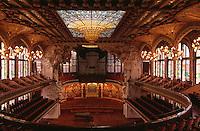 Palau de la Musica Catalana, Barcelona, Spanien, Unesco-Weltkulturerbe