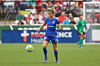 Portland, Oregon - Sunday May 29, 2016: Seattle Reign FC midfielder Carson Pickett (16). The Portland Thorns play the Seattle Reign during a regular season NWSL match at Providence Park.