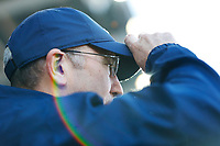 Middlesbrough manager Tony Pulis adjusts his basal cap prior to kick off of the Sky Bet Championship match between Cardiff City and Middlesbrough at the Cardiff City Stadium. Cardiff, Wales, UK. Saturday 17 February 2018