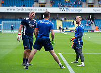 First team goalkeeping coach Lee Butler with Ben Alnwick (r) and Mark Howard<br /> <br /> Photographer Ashley Western/CameraSport<br /> <br /> The EFL Sky Bet Championship - Millwall v Bolton Wanderers - Saturday August 12th 2017 - The Den - London<br /> <br /> World Copyright &not;&copy; 2017 CameraSport. All rights reserved. 43 Linden Ave. Countesthorpe. Leicester. England. LE8 5PG - Tel: +44 (0) 116 277 4147 - admin@camerasport.com - www.camerasport.com