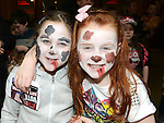 Deirdre Fullam Flood and Aimee Myles at the Laurence Centre Easter celebrations. Photo:Colin Bell/pressphotos.ie