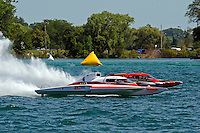 "Andrew Tate, GP-101 and Jimmy King, GP-10 ""The Charger"" (Grand Prix Hydroplane(s)"