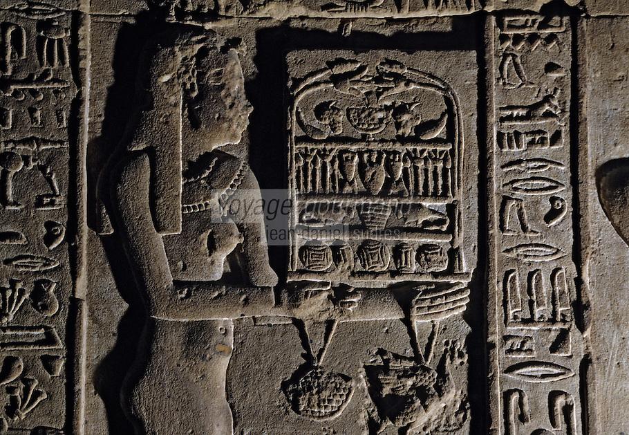 Afrique/Egypte/Dendérah: Le temple d'Hathor (déesse du ciel)