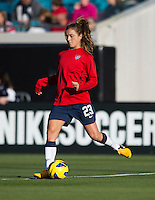 Kristie Mewisi.  The USWNT defeated Scotland, 4-1, during a friendly at EverBank Field in Jacksonville, Florida.