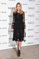 Donna Air<br /> at the Vogue 100: A Century of Style exhibition opening held in the National Portrait Gallery, London.<br /> <br /> <br /> ©Ash Knotek  D3080 09/02/2016