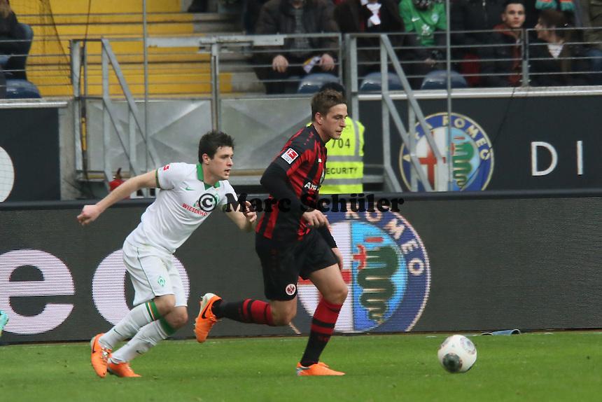 Bastian Oczipka (Eintracht) - Eintracht Frankfurt vs. SV Werder Bremen