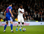 Tottenham's Serge Aurier during the UEFA Champions League match at the Tottenham Hotspur Stadium, London. Picture date: 26th November 2019. Picture credit should read: David Klein/Sportimage