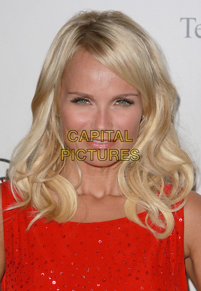 KRISTIN CHENOWETH.Disney, ABC Television Group All Star Party held at the Beverly Hilton Hotel,Beverly Hills, California, USA..July 17th, 2008.headshot portrait red orange sequined sequins .CAP/ADM/CH.©Charles Harris/AdMedia/Capital Pictures