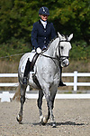 Stapleford Abbotts. United Kingdom. 08 September 2019. Class 4. British dressage. Brook Farm training centre. Essex. UK.~ 08/09/2019.  MANDATORY Credit Garry Bowden/Sport in Pictures - NO UNAUTHORISED USE - 07837 394578