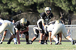 Palos Verdes, CA 10/02/09 - The Vista Murietta Broncos visited the Peninsula Panthers in a non-league contest, won 43-21 by Vista Murietta.  In action are Brock Dale (#7)