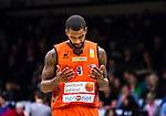 S&ouml;dert&auml;lje 2015-01-17 Basket Basketligan S&ouml;dert&auml;lje Kings - Bor&aring;s Basket :  <br /> Bor&aring;s Adama Darboe ser nedst&auml;md ut under matchen mellan S&ouml;dert&auml;lje Kings och Bor&aring;s Basket <br /> (Foto: Kenta J&ouml;nsson) Nyckelord:  Basket Basketligan S&ouml;dert&auml;lje Kings SBBK T&auml;ljehallen Bor&aring;s depp besviken besvikelse sorg ledsen deppig nedst&auml;md uppgiven sad disappointment disappointed dejected portr&auml;tt portrait