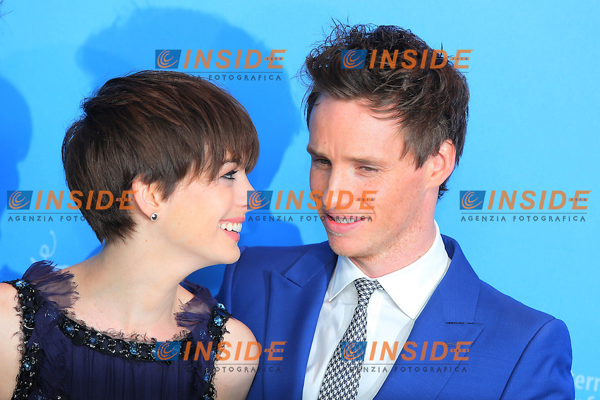 Anne Hathaway, Eddie Redmayne.Berlin 08/02/2013. 63th Berlinale 'Les Miserable' photocall. .foto Mark Cape/Insidefoto