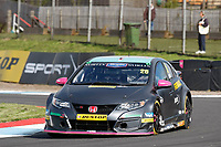 Round 8 of the 2018 British Touring Car Championship.  #26 Daniel Lloyd. BTC Norlin Racing. Honda Civic Type R.