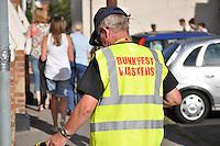 Bunkfest Waster. Volunteer litter-picking. Wallingford Bunkfest 2013.