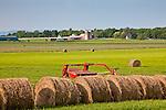 Farmland on the Lake Champlain Islands, South Hero, VT, USA