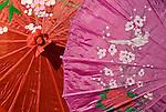 Silk Parasols 02 - Silk parasols, Hoi An, Viet Nam.