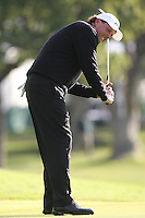 02/18/11 Pacific Palisades, CA: Phil Mickelson during the second round of the Northern Trust Open held at the Riviera Country Club.