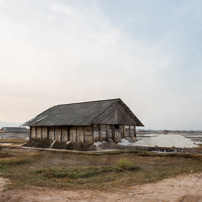 March 02, 2015 - Kampot, Cambodia. Salt fields. © Nicolas Axelrod / Ruom