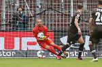 nph00001:  nph0001:  17.05.2020 --- Fussball --- Saison 2019 2020 --- 2. Fussball - Bundesliga --- 26. Spieltag: FC Sankt Pauli - 1. FC Nürnberg --- --- DFL regulations prohibit any use of photographs as image sequences and/or quasi-video - Only for editorial use ! --- <br /> <br /> Felix Dornebusch (21, 1. FC Nürnberg ) <br /> <br /> Foto: Daniel Marr/Zink/Pool//via Kokenge/nordphoto