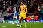 Jan Oblak of Atletico de Madrid during UEFA Champions League match between Atletico de Madrid and Juventus at Wanda Metropolitano Stadium in Madrid, Spain. September 18, 2019. (ALTERPHOTOS/A. Perez Meca)