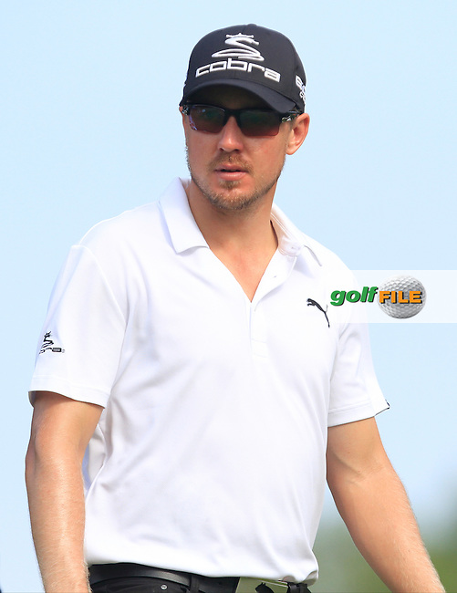 Jonas Blixt (SWE) on the 7th tee during Round 4 of the CIMB Classic in the Kuala Lumpur Golf &amp; Country Club on Sunday 2nd November 2014.<br /> Picture:  Thos Caffrey / www.golffile.ie