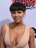 Megan Good @ the 2016 iHeart Radio Music awards held @ the Forum.<br /> April 3, 2016