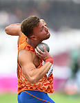 Pieter BRAUN (NED) in the mens decathlon shot put. IAAF world athletics championships. London Olympic stadium. Queen Elizabeth Olympic park. Stratford. London. UK. 11/08/2017. ~ MANDATORY CREDIT Garry Bowden/SIPPA - NO UNAUTHORISED USE - +44 7837 394578