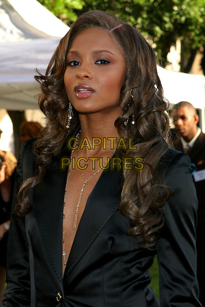 CIARA.2005 Soul Train Lady of Soul Awards - Arrivals held at the Pasadena Civic Center, Pasadena,  CA..September 7th, 2005.Photo credit: JW.headshot portrait plunging neckline.www.capitalpictures.com.sales@capitalpictures.com.© Capital Pictures.