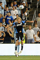 Steven Lenhart San Jose Earthquakes forward in action... Sporting KC defeated San Jose Earthquakes 1-0 at LIVESTRONG Sporting Park, Kansas City, Kansas.
