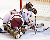 Corinne Boyles (BC - 29), Shannon Webster (BC - 12) - The University of Vermont Catamounts defeated the Boston College Eagles 5-1 on Saturday, November 7, 2009, at Conte Forum in Chestnut Hill, Massachusetts.