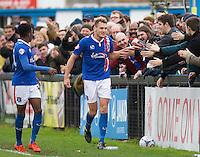 Welling United v Carlisle United - FA Cup 2nd Round - 06/12/2015